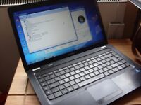 HP COMPAQ PRESARIO CQ56 LAPTOP DUAL CORE 4GB 250GB WIN7 + CHARGER