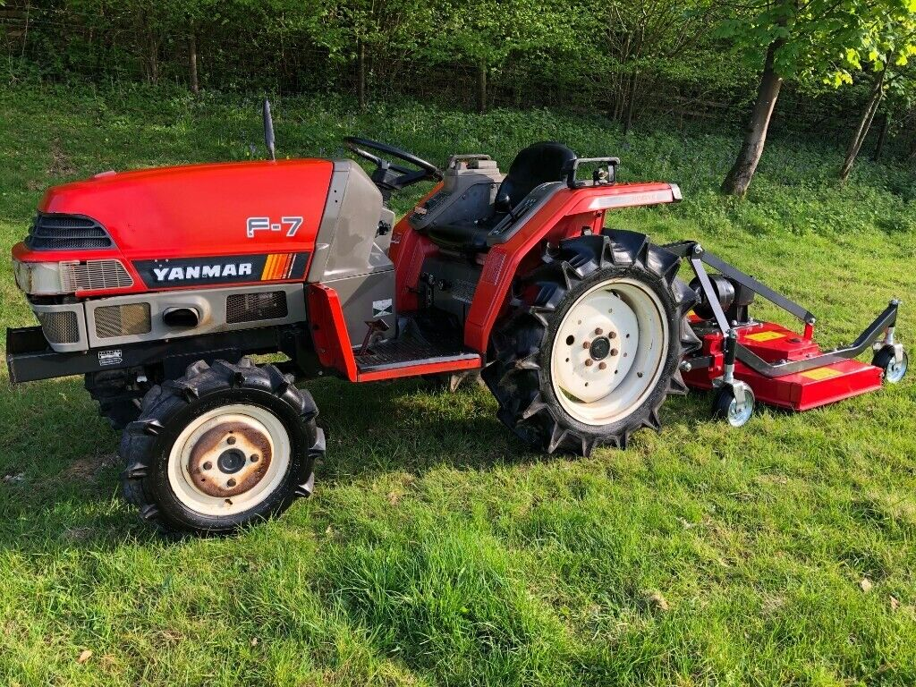 Yanmar F-7 4WD Compact Tractor with New 4ft Finishing Mower *** NICE  TRACTOR *** | in Gloucester, Gloucestershire | Gumtree