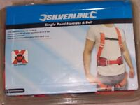 Silverline Safety Fall Arrest Harness & Work Positional Belt & Harness, Anchor Loop - Tree Surgeon?