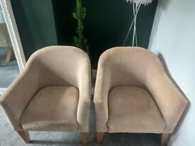 2 x Next Tub Chairs