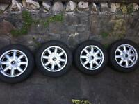 Mini Cooper tyres and alloys GREAT CONDITION!