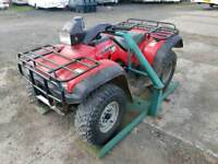 Quad atv security lock can be bolted to floor farm stables tractor