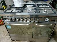 Baumatic Dual fuel cooker