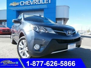 2013 Toyota RAV4 Limited - Leather  Moonroof & Accident Free
