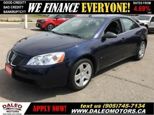 2009 Pontiac G6 SE | ONLY 82 KMS | NO CREDIT-CHECK LEASING!