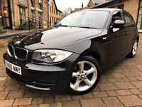 BMW 1 Series 2.0 118d Sport 5dr ***6 MONTHS WARRANTY**FULL S/H 2010 (60 reg), Hatchback