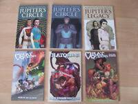 Graphic novels comics for sale excellent condition 'Rat Queen's' 'Jupiter's Legacy' take a look...