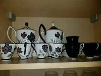 Fine bone China coffee set for 8