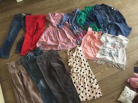 Girls 5-8 Clothes bundle