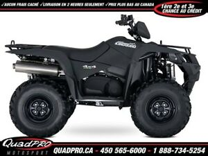 2018 Suzuki KingQuad 500AXi Power Steering !!! 200$ DE RABAIS !!