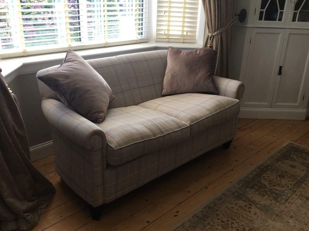 Gorgeous Laura Ashley Small 2 Seater Sofa In Dundee