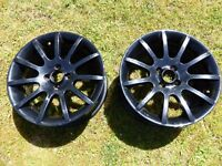 "Two x Ariel Atom 7"" x 16"" Alloy Wheels Lotus Elise Exige MGF MGTF. MG Opportunity."