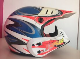 Child's Motor Cross Quad Helmet
