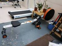 V- fit rowing machine