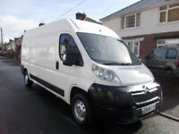 2009 Citroen Relay 35 hdi 2.2 diesel lwb m/roof new clutch and dual mass mot 24/1/19