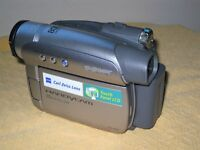 Sony DCR-HC27E Handycam Mini DV camcorder, plus carrying bag and 8 new DV cassettes
