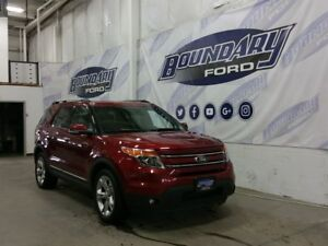2015 Ford Explorer Limited W/ V6, leather, Sunroof, Remote Start