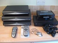 Sky HD Boxes, OpenBox V8s and free One for all remote