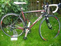 RIDLEY carbon road bike.