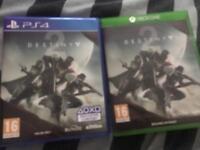 Destiny 2 Xbox one/Ps4 £10 each