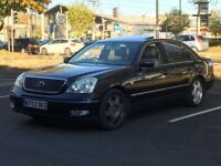 2003 LEXUS LS430 * FULLY LOADED * 10 SERVICE STAMPS * SAT NAV * PART EX WELCOME * DELIVERY *