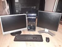 Windows 7 Home Premium Desktop PC, 2.6GHz, 8MB Ram, 1TB HDD - Used