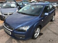 2006/06 FORD FOCUS 1.6 ZETEC CLIMATE,5 DOOR,BLUE,SERVICE HISTORY,STUNNING COLOUR,LOOKS+DRIVES WELL