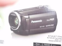 Panasonic HD Video Camera HCV130.2Batteries.Shoulder bag As New boxed.£120.