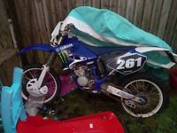 Yz125 road legal 04 plate