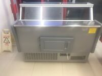 serve over counter fridge meat display 1.5m