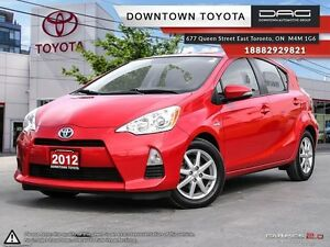 2012 Toyota Prius c Technology (CVT) NAVI NO ACCIDENTS