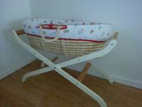 Baby Moses Rocking Basket