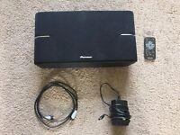 Pioneer XW-BTS1-K 10W Wireless Bluetooth Speaker System - Black