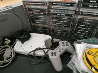 2x PlayStation 1 / PS1 with 40+ games