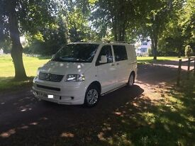 2008 volkswagen T5 campervan 1.9TDI. 115k miles full service history. new MOT. NO VAT 3 KEYS