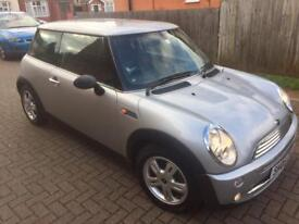MINI ONE 2005 AUTO SILVER ONLY 25000 MILES