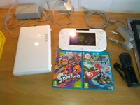 Wii U, all cables & 2 great games
