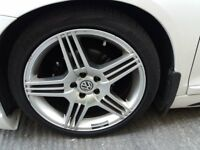 VW ALLOY RIMS AND TYRES