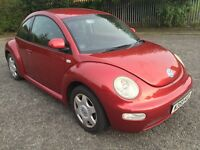 VOLKSWAGEN BEETLE 2.0 TAX AND MOT 2 FORMER KEEPERS