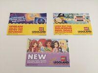 Legoland Tickets x3