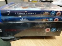 Capture America Avengers Assemble and X Men