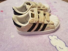 toddler trainers size 5, addidas superstar and leather nike
