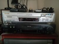 Panasonic Super VHS recorder/player