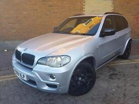 BMW X5 3.0sd M Sport Auto (silver) 2009