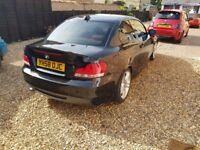 120d m sport Red Lether seats