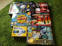 Variety of games & puzzle games for sale (sold as a large bundle)