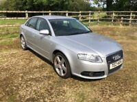 2007 Audi A4 S-Line 2.0TDI 4dr Auto FOR PARTS OR REPAIR needs auto gearbox