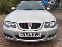 2004 54 ROVER 45 1.4 CLUB 5 DR HATCHBACK LOW MILEAGE NEW M.O.T IMMACULATE