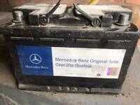 Genuine Mercedes sprinter Vito crafter 12v 70ah battery