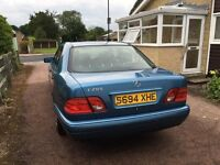 One owner E class Mercedes200, well maintained, low genuine mileage, price Reduced
